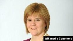 Şotlandiya millətçilərinin lideri Nicola Ferguson Sturgeon