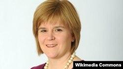 Şotlandiyanın birinci naziri Nicola Ferguson Sturgeon
