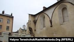 Залишки синагоги «Золота Роза» у Львові