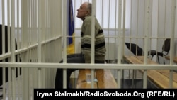 Олексій Пукач, обвинувачений у вбивстві Георгія Гонгадзе під час судового засідання у Апеляційному суді Києва, архівне фото