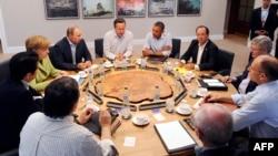 إجتماع قادة الدول الثماني الكبرى في انيسكيلين (ايرلندا الشمالية)