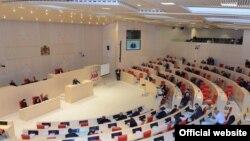 Վրաստանի խորհրդարանի հերթականի նիստերից մեկը, արխիվ