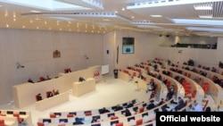 Վրաստան -- Խորհրդարանի նիստերի դահլիճը, Քութաիսի, արխիվ