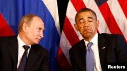 Պուտինն ու Օբաման Լոս Կաբոսում: 18-ը հունիսի, 2012թ․