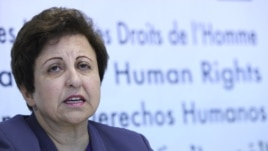 Shirin Ebadi is a former lawyer and judge in Iran.