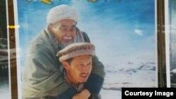 """""""Оралман"""" фильмінің афишасы. Тегеран, 2017 жылдың сәуірі."""