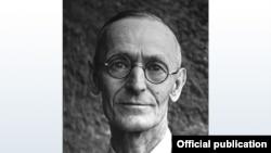 Alman yazıçısı Hermann Hesse.