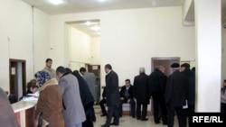 Bakının mərkəzində yerləşən notarial kontor, 15 yanvar 2010