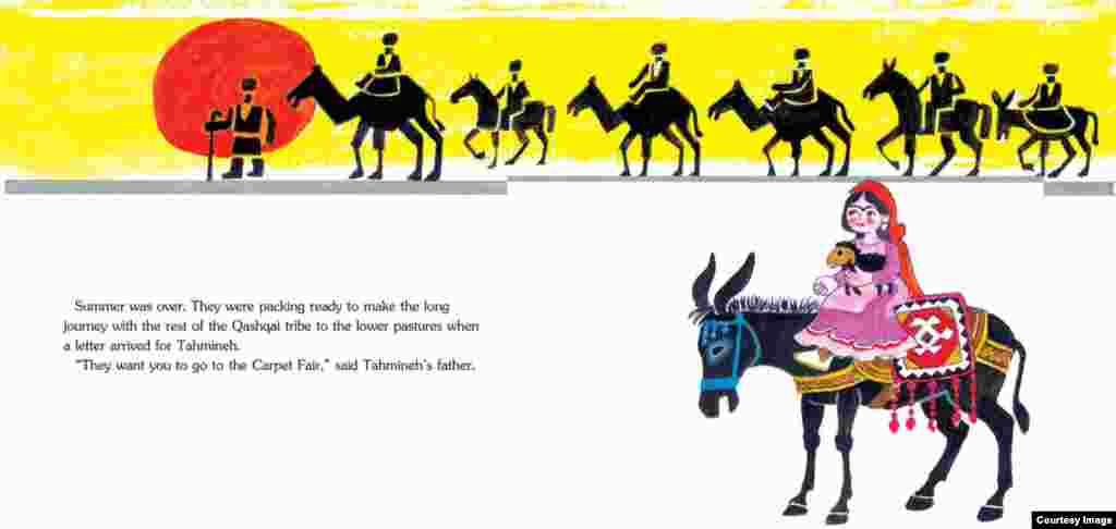 قصه «پرنده زیبای تهمینه» را آزیتا راثی به زبان انگلیسی ترجمه کرده، مانند دیگر کتابهای «تاینی اُول» از ادبیات کودک ایران.