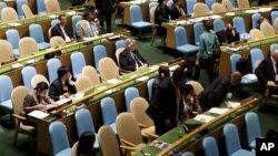 Сессия ООН в Нью-Йорке. Иллюстративное фото.