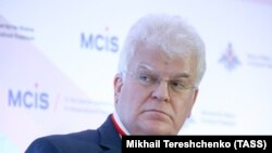 Russian Permanent Representative to the European Union Vladimir Chizhov. File photo