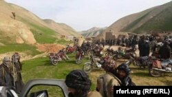 Local pro-government paramilitary groups are retreating in almost all areas of Afghanistan's Faryab Province.