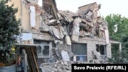 Srušeni hotel Crna Gora