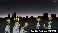 Baku: No Oil, No Light (RFE/RL Azerbaijani Service)