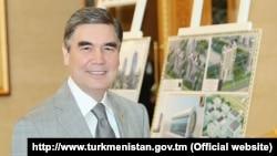 Türkmenistanyň prezidenti Gurbanguly Berdimuhamedow, döwlet telwideniýesinden alnan pursat, 24-nji iýul, 2019