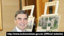 Gurbanguly Berdymukhamedov, arxiv fotosu