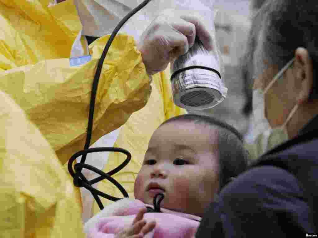 Nihonmatsu, na sjeveru Japana, 15.03.2011. Foto: Reuters / Kyodo