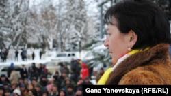 Лидер оппозиции Алла Джиоева полагает, что власти не хотят выполнять взятые на себя обязательства
