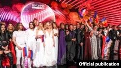 «Евровидение-2015» ән байқауы финалына қатысушылар. Вена, Австрия, 23 мамыр 2015 жыл.