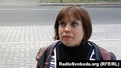 Жительница оккупированного Донецка