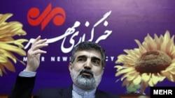 Ирандын Атомдук энергия боюнча жогорку уюмунун өкүлү Бехруз Камалванди.
