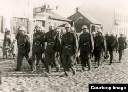 Служащие пожарной охраны Бреста. 1935 г.