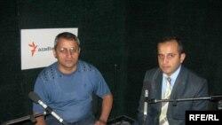 Əliməmməd Nuriyev [solda] və Anar Tanrıverdiyev, 16 oktyabr 2006