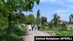 Ата Түрк паркындагы мыйзамсыз курулуштар. Бишкек, 8-май, 2013.