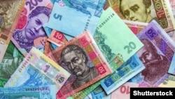 Ukraine – Background of banknotes Ukrainian hryvnias