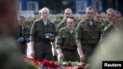 Омскида һәлак булган хәрбиләр белән хушлаштылар