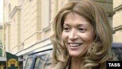 Gulnara Karimova, the daughter of Uzbek President Islam Karimov, has been implicated in a major bribery scandal. (file photo)
