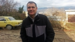 Environmental activist Yevgeny Vitishko in a photo from mid-January
