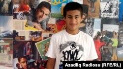 Активист молодежного движения NİDA , Шахин Новрузлу