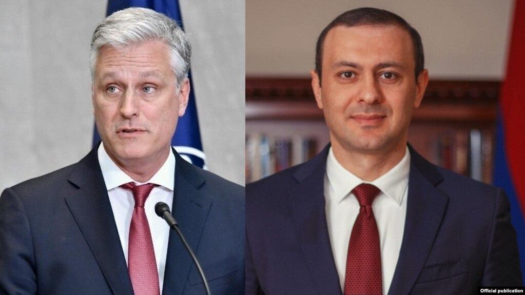 Секретарь Совбеза Армении поздравил новоназначенного советника президента США по нацбезопасности