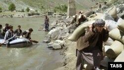 На таджикско-афганской границе. Архивное фото
