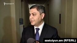 Директор СНБ Артур Ванецян, Ереван, 24 мая 2019 г.
