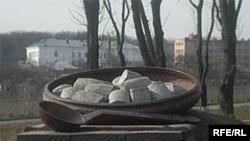 Пам'ятник полтавським галушкам