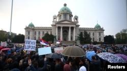 Sa protesta opozicije iz aprila 2019.