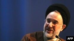 محمد خاتمی، رییس جمهوری پیشین ایران.