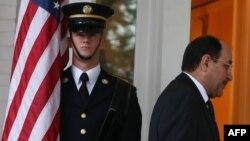 Нури ал-Малики Вашингтондо. 30-октябрь, 2013-жыл.