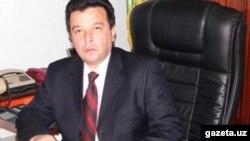 ТДИУ ректори Баҳодир Ҳодиев.
