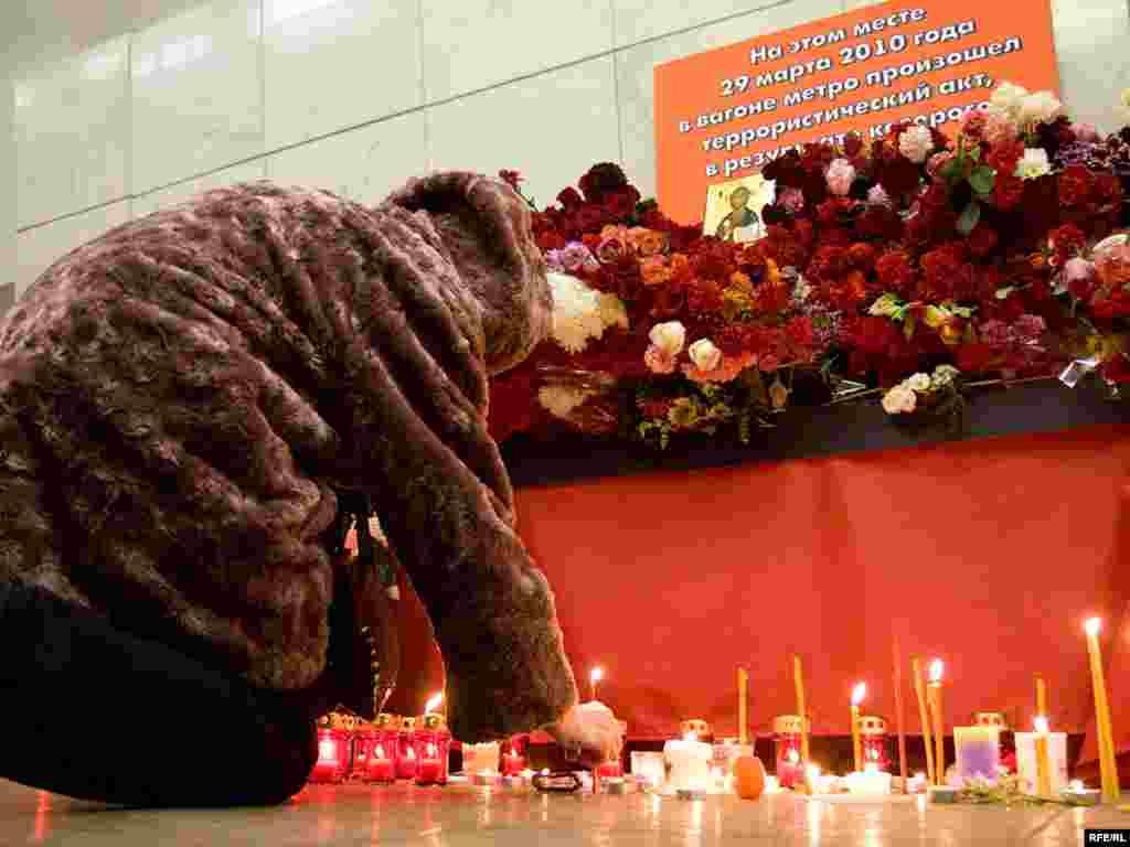 Moskovljani pale svijeće i polažu cvijeće za nastradale