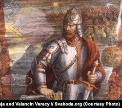 Князь Гедымін на літаграфіі