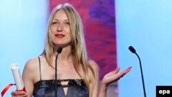 """В 2011 году Марина Врода получила """"Золотую пальмовую ветвь"""" Каннского кинофестиваля за короткометражный фильм """"Кросс"""""""