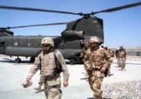 ISAF troops in Zabul Province last year (Courtesy Photo)