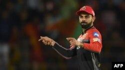 ویرات کوهلی٬ بازیکن مشهور تیم ملی کرکت هند