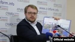Министр информации Крыма Дмитрий Полонский