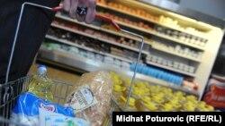 SOS prodavnica za siromašne u Sarajevu - ilustracija