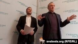 Уладзімер Някляеў і Андрэй Дзьмітрыеў