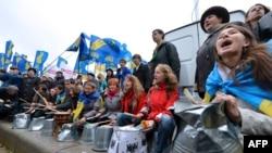 Акция оппозиции в Киеве